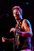 LAS VEGAS-APR 4: Brian Kelley of Florida Georgia Line performs at the 2nd Annual Academy of Country Music (ACM) Party For A Cause Festival -