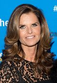 NEW YORK-MAR 13: TV personality Maria Shriver attends the 'Paycheck To Paycheck: The Life And Times