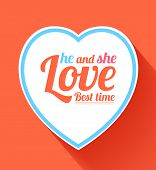 Valentine Heart He And She Best Time