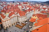 Prague view from Rathaus