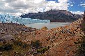The Perito Moreno Glacier in Patagonia Argentina