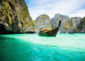 stock photo of phi phi  - Thailand ocean landscape - JPG
