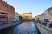 Griboyedov Canal in the Saint Petersburg