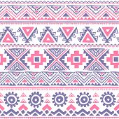 Tribal vintage ethnic seamless