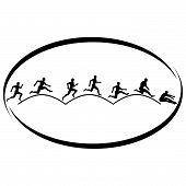 Athletics. Triple jump