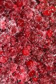 Cranberries in sugar