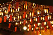 Lanterns at the Man Mo Temple