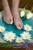 Foot Bath With Herbs And Flowers 5