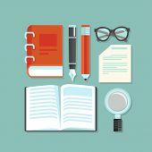 Vector Reading Concept