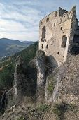 Ruins Castle Of Lietava