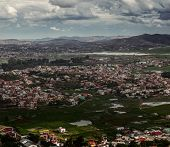 Suburbs of the city of Antananarivo, Madagascar