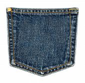 Back Pocket of Jeans.