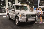 2015 Mercedes-benz G-class At The Orange County International Auto Show