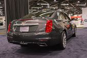 2015 Cadillac Cts At The Orange County International Auto Show
