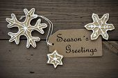 stock photo of ginger bread  - The Words Season - JPG