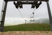 A Chair Lift Out Of Season