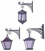 Vintage street lanterns