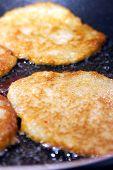 potato pancakes fried