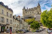 View At The Castle In Saumur.