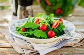 Rocket (arugula) And Cherry Tomato Salad