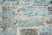 Texture Of An Old Stone Wall