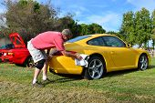 Polishing the Porsche