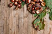 Chestnuts On A Table