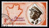 King Mwami Mwambutsa Iv, Map Of Burundi