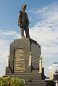 Monument to the Admiral of royal Thai fleet Prinze of Krom Luang Jumborn Khet Udomsakdi