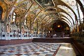 image of munich residence  - Interior of Antiquarium in Residence museum in Munich - JPG