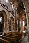 Interior of St Lawrence Church (Lorenzkirche) in Nurnberg