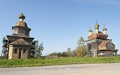Ancient Wooden Churches In North Russia