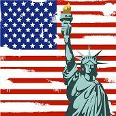 Grunge American Background
