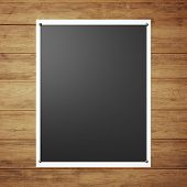 Black Poster On The Wall
