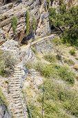 Oman Path Saiq Plateau