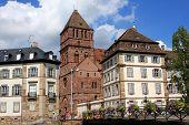 Strasbourg buildings, France