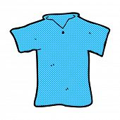 retro comic book style cartoon t shirt