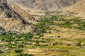 Aerial View Of Ladakh Landscape