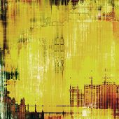 Old abstract grunge background, aged retro texture. With different color patterns: yellow (beige); brown; green; black