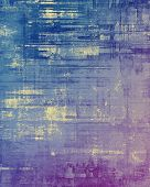 Old texture with delicate abstract pattern as grunge background. With different color patterns: gray; blue; purple (violet); pink