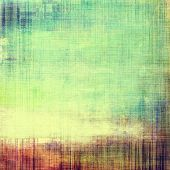Old, grunge background texture. With different color patterns: yellow (beige); green; blue; red (orange); purple (violet)