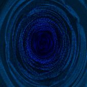 stock photo of sag  - Blue abstract fractal background  - JPG