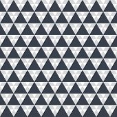 Creative pattern Black triangles on white background