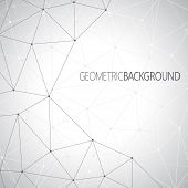 Geometric gray background for your design and your text
