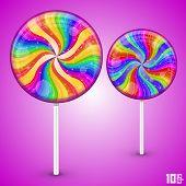 Candy lollipop