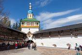 In The Pskovo-pechersky Monastery