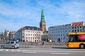 Denmark. Copenhagen. Transport in the center of the city