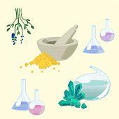 Chemist's tools set