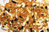 Golden Ribbon Texture