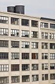 Old building facade in New York, Usa.